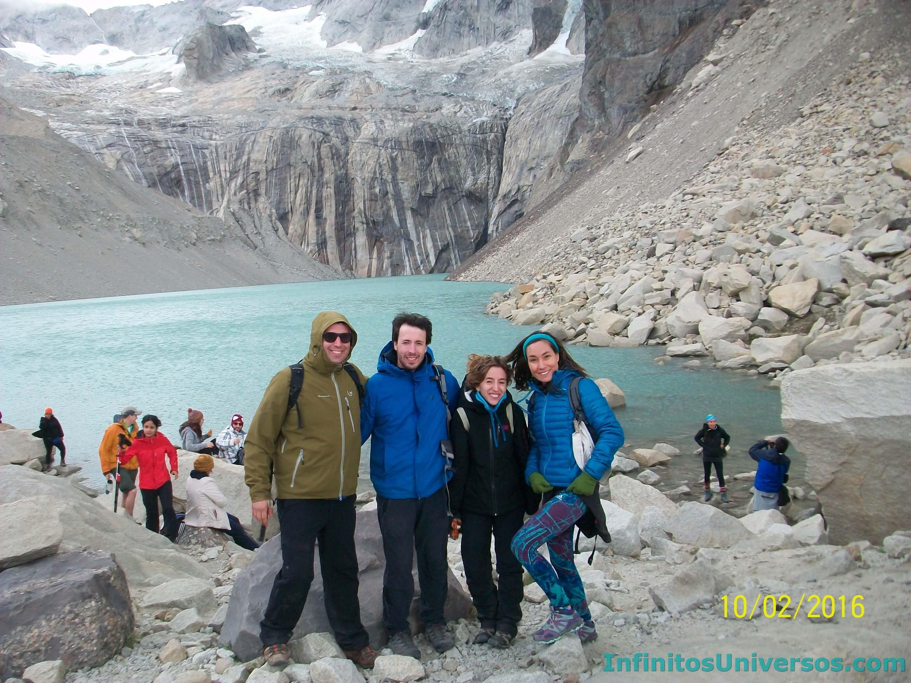 Trekking las Torres del Paine, Chile