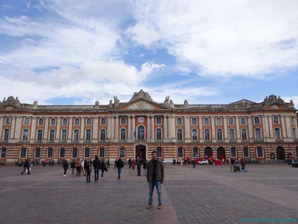 Toulouse mapa sur de francia