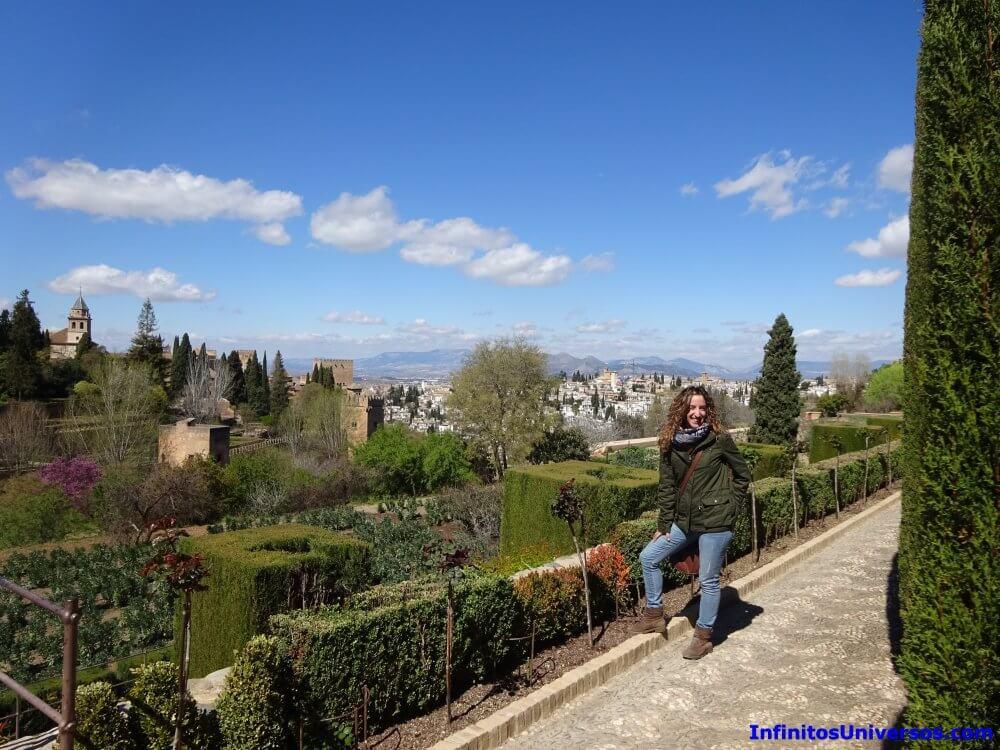 Jardines del Generalife alhambra