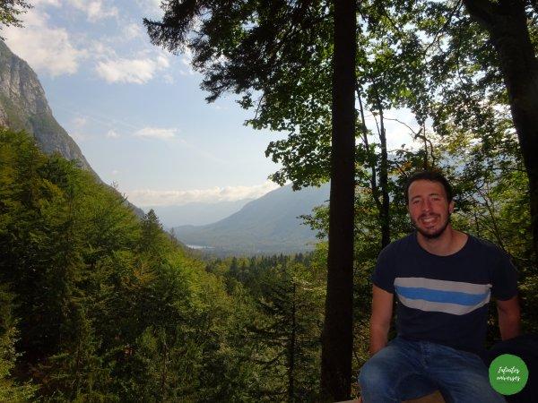 Valle glaciar al fondo Lago Bohinj Increíbles paisajes en Eslovenia: Slap Savica - Vogel - Lago Bohinj