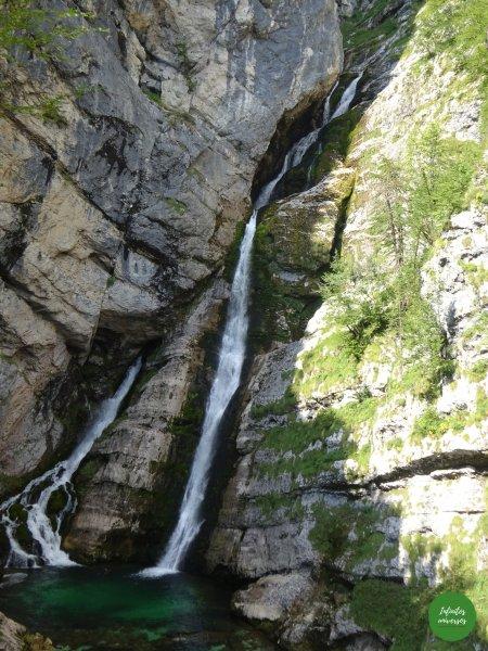 Slap Savica! Lago Bohinj  Increíbles paisajes en Eslovenia: Slap Savica - Vogel - Lago Bohinj