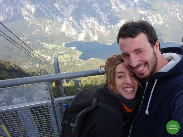 Lago Bohinj desde la estación de esquí de Vogel Lago Bohinj Increíbles paisajes en Eslovenia: Slap Savica - Vogel - Lago Bohinj