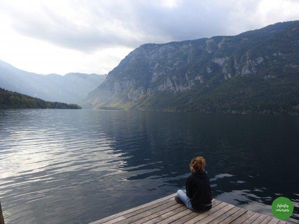 Contemplando el lago Bohinj Increíbles paisajes en Eslovenia: Slap Savica - Vogel - Lago Bohinj