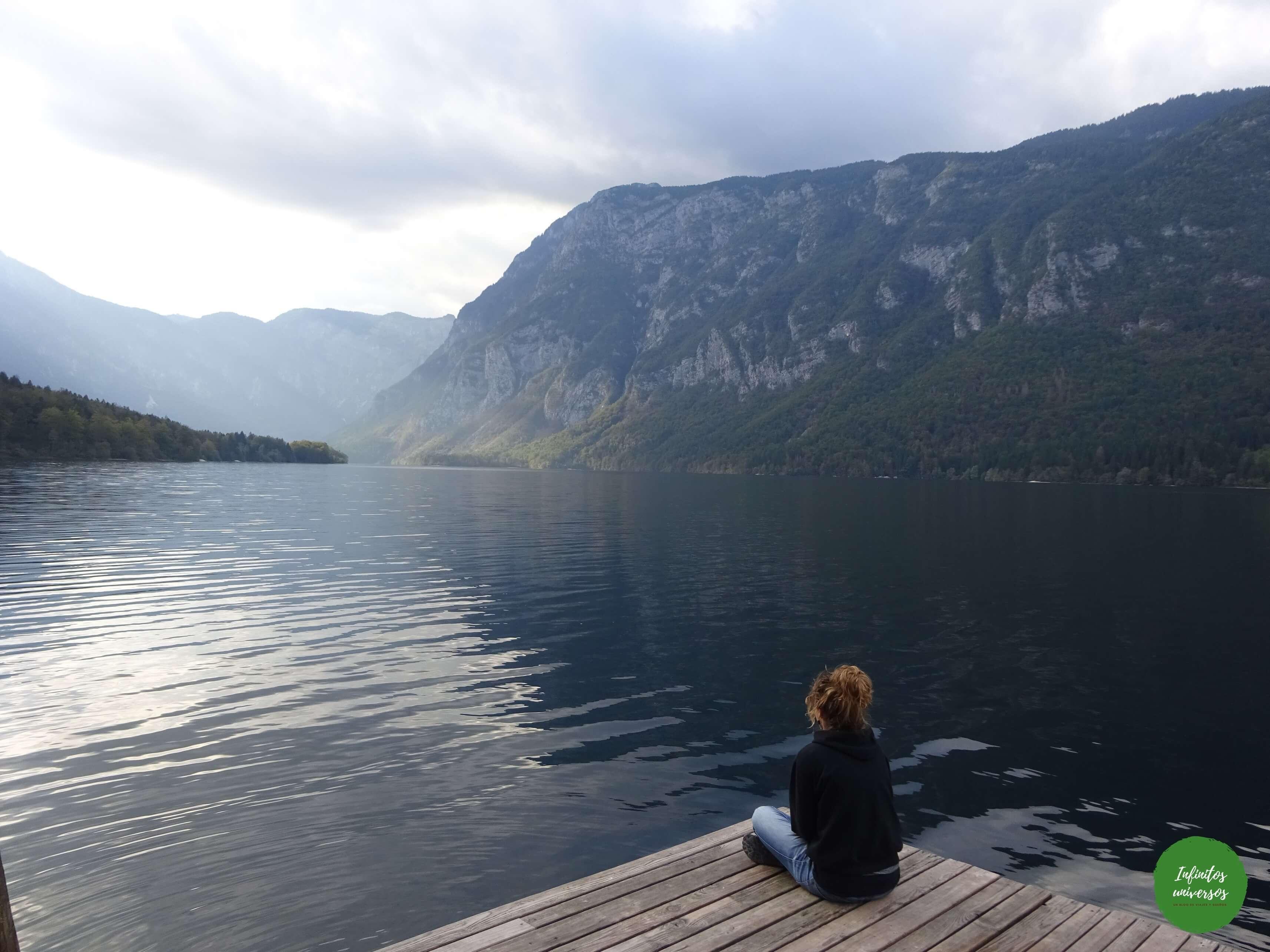 Contemplando el lago Bohinj - Eslovenia en 4 días