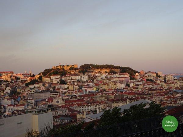 Mirador San Pedro Alcántara Lisboa Que ver en Lisboa