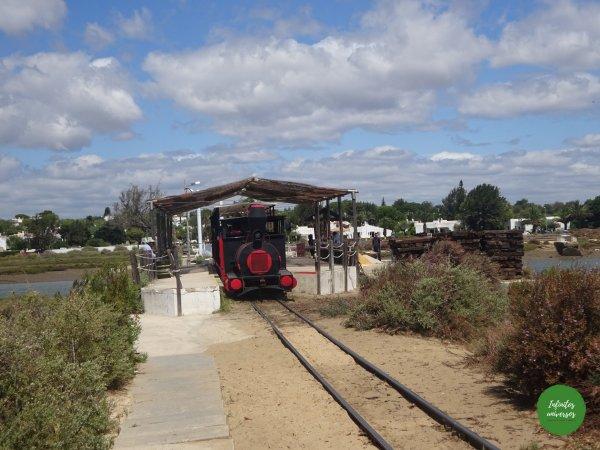 Tren hasta playa de Barril