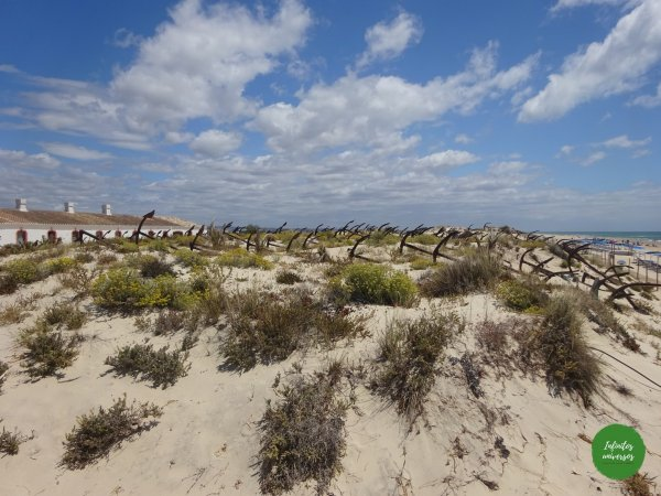Cementerio de las anclas Algarve una de las mejores playas del Algarve
