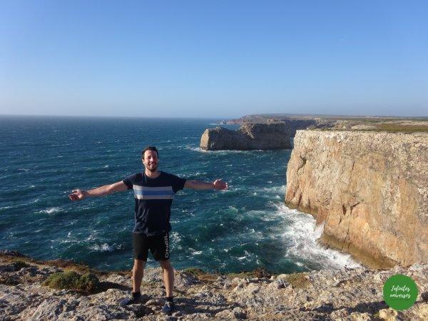 Cabo San Vicente algarve una de las mejores playas del Algarve