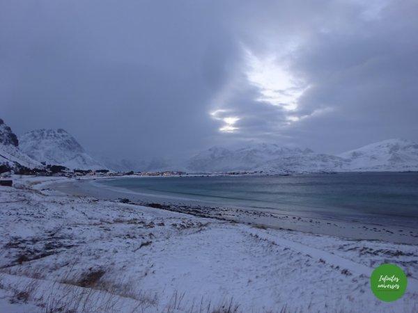 Playa de Ramberg Islas Lofoten