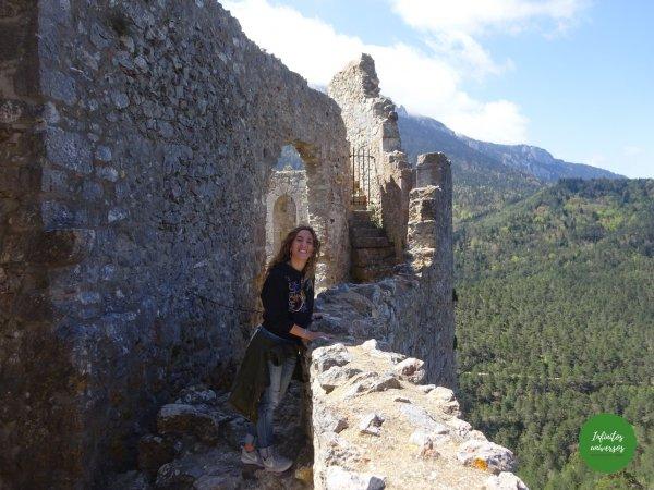 Castillo de Puilaurens castillos del sur de francia