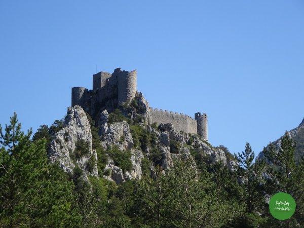 cátaros Ruta por los castillos cátaros, sur de Francia castillos del sur de francia