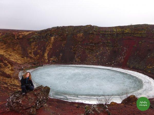 Cráter Kerið Islandia en 10 días