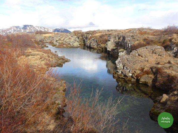 Grieta Flosagjá - islandia