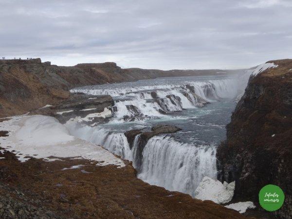 Gullfoss - Círculo Dorado - Círculo Dorado de Islandia langistigur