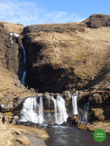 Cascada Glugglafoss urridafoss seljalandfoss