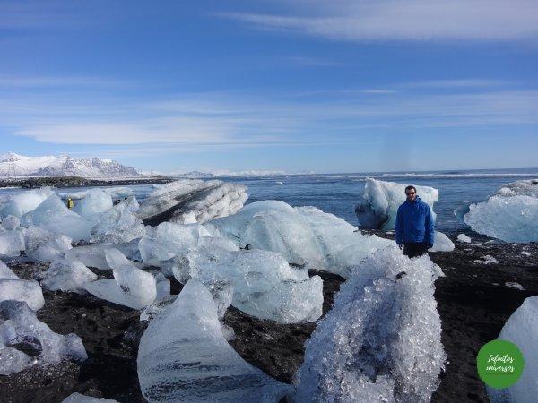 Playa de los diamantes playa de los diamantes Jökulsárlón