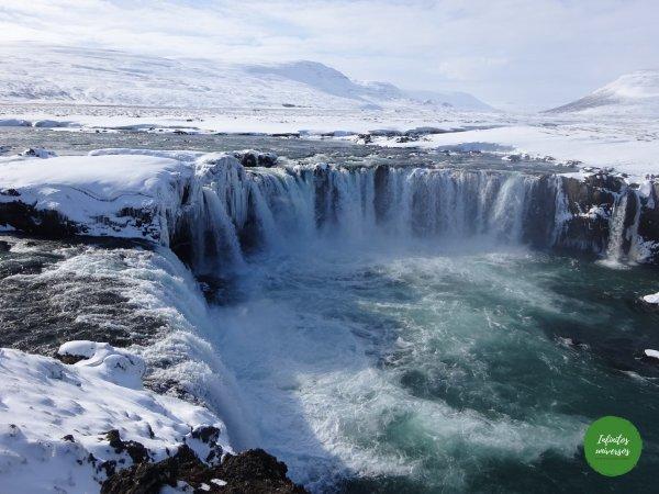 Cascada Godafoss cascadas de Islandia