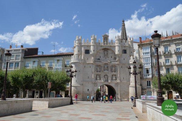 Arco de Santa María Qué ver en Burgos en un día