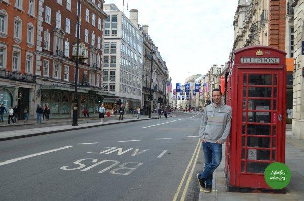 Cabina telefónica en Londres  - Que ver en Londres