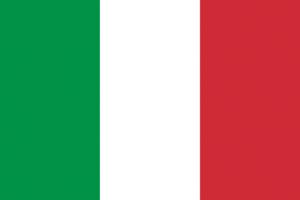 viajes italia bandera