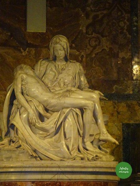 La Piedad de Miguel Ángel vaticano