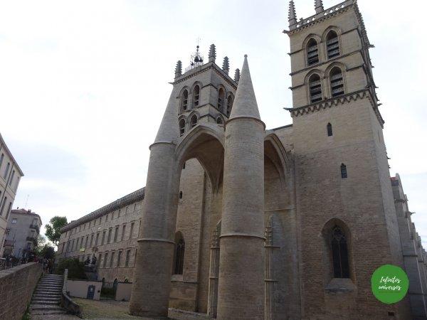 Montpellier sur de Francia mapa