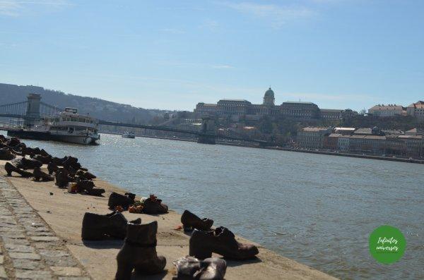 Monumento de los zapatos Budapest en 3 días