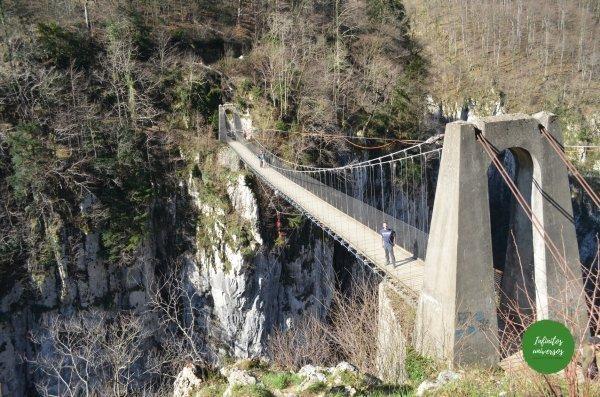 Puente de Holtzarte ruta puente colgante de holtzarte pasarela de holtzarte y garganta de kakueta