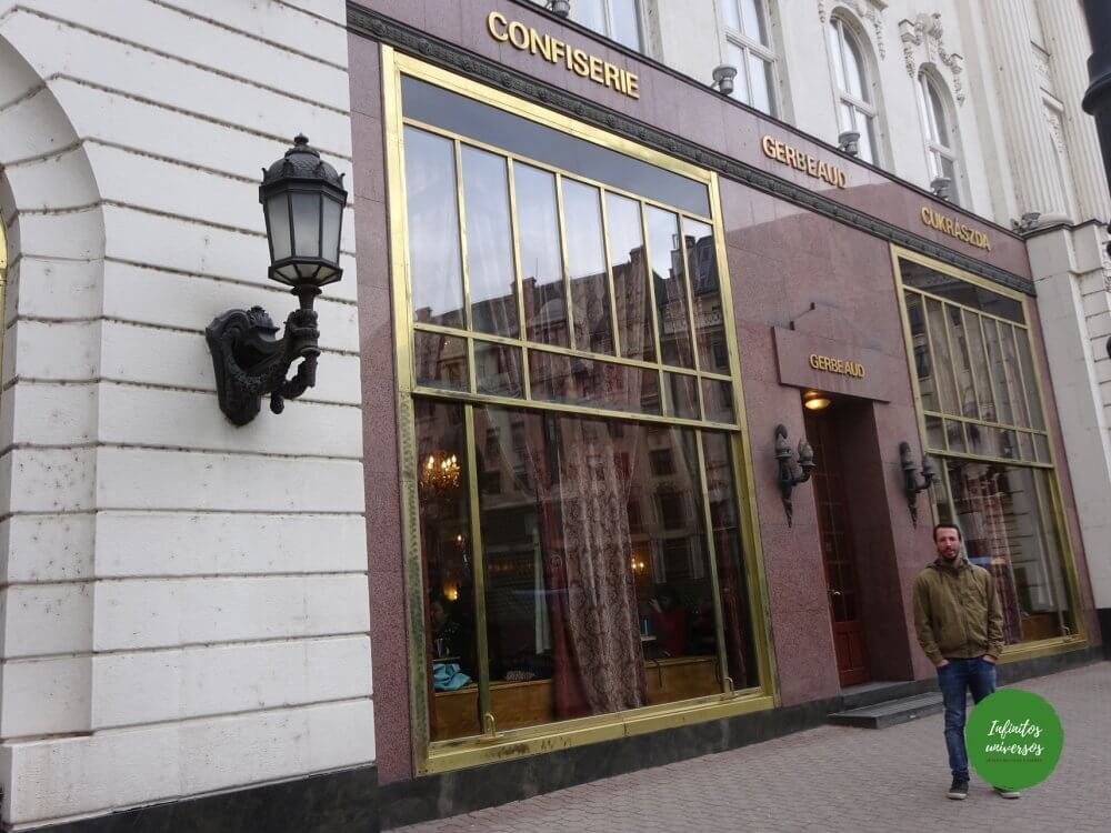 Pastelería Gerbeaud Budapest