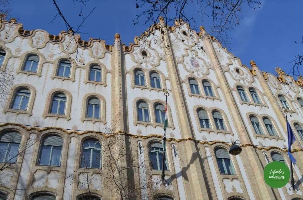 Antigua Caja Postal de Ahorros de Budapest