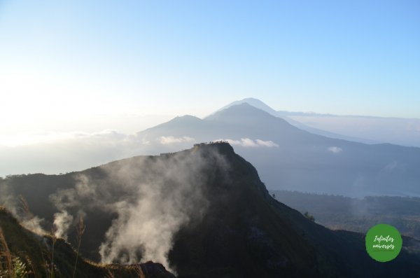 Monte Batur cascada kanto lampo