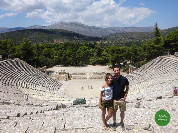Teatro de Epidauro - Qué ver en el Peloponeso  - Grecia en 10 días