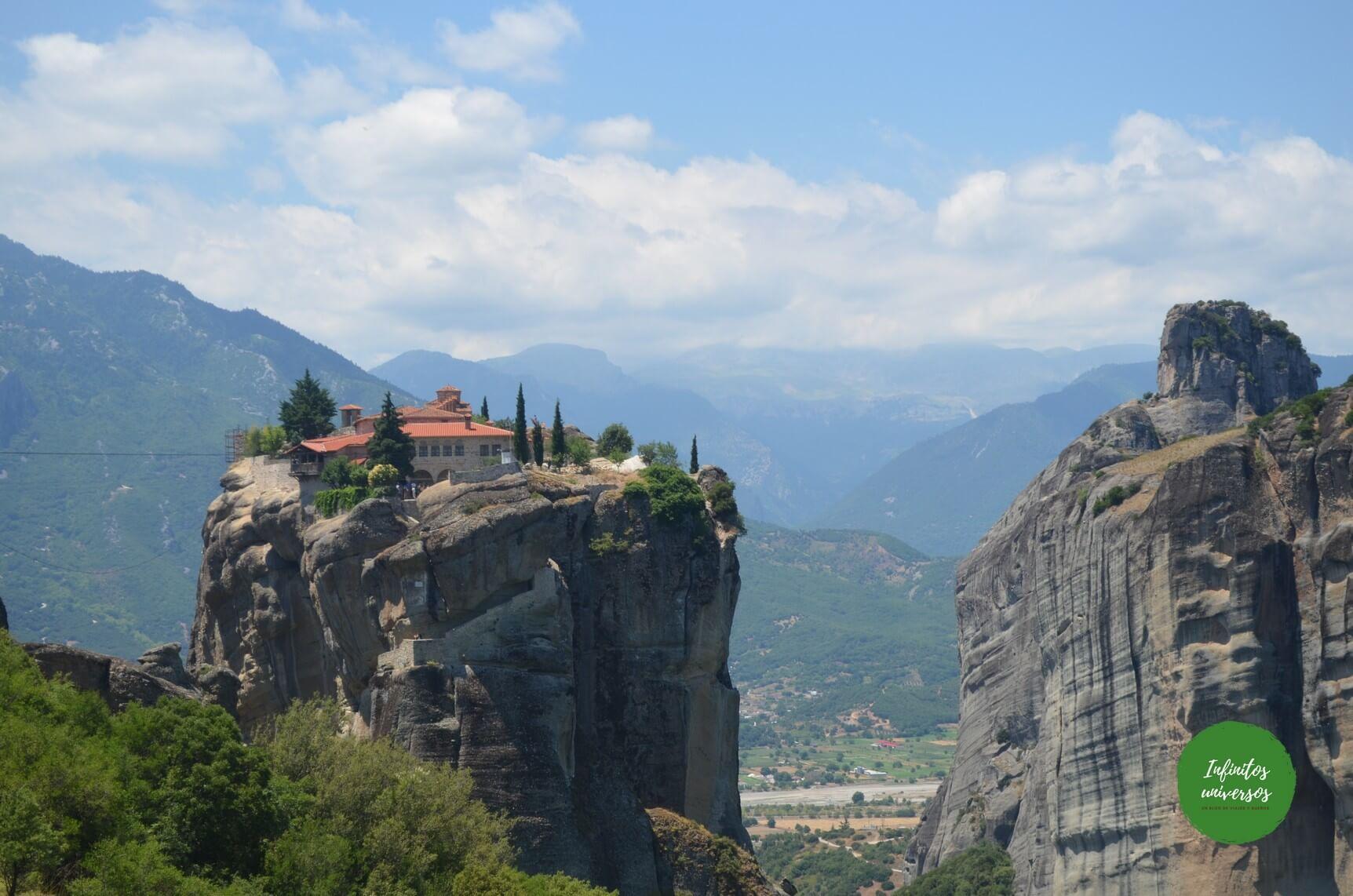 Monasterios de Meteora - que ver en Grecia