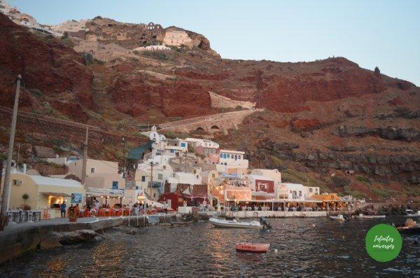 Bahía de Ammoudi  - Grecia en 10 días