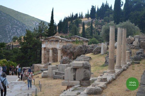 Templo de Apolo - Qué ver en Delfos (Grecia)
