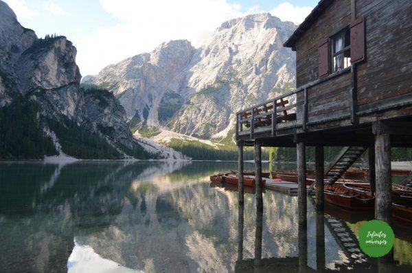 Lago di Braies Dolomitas Italia