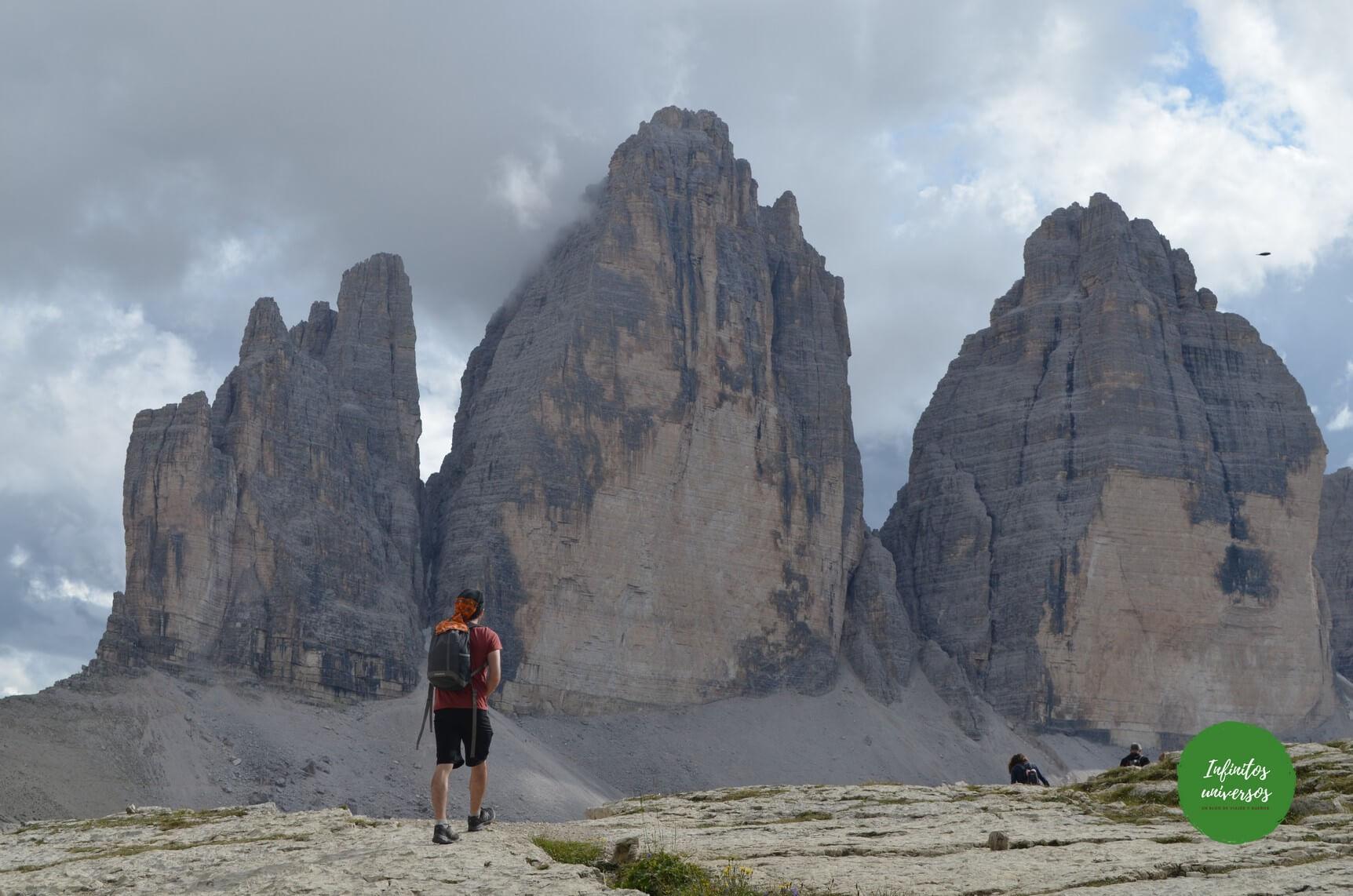 Trekking de las Tres Cimas de Lavaredo, Dolomitas