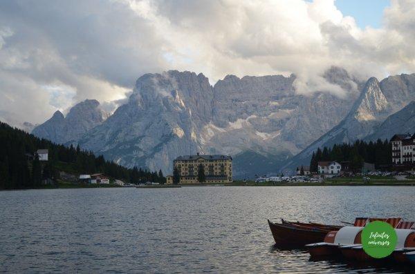 Lago Misurina Dolomitas Italia