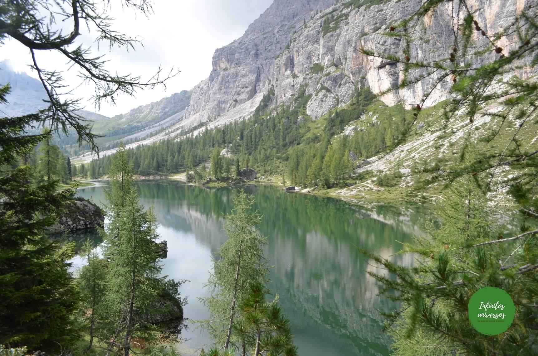 Trekking al lago di Federa en los Dolomitas